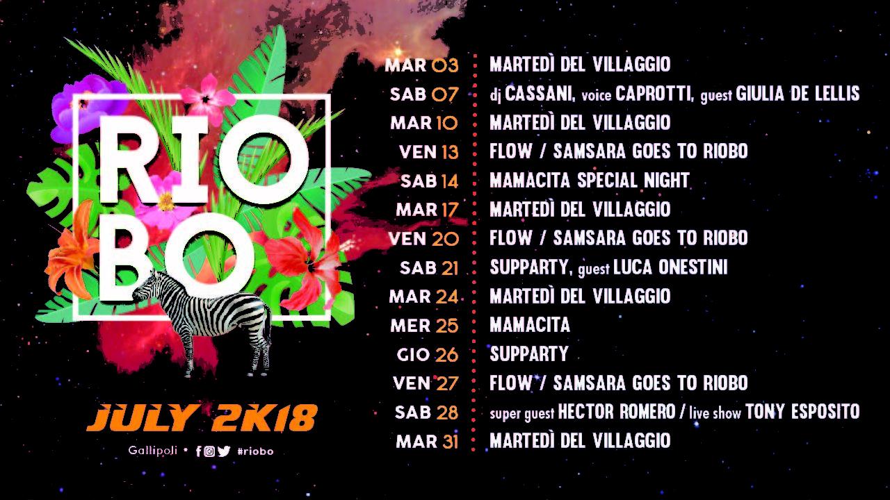 riobo lug 2018